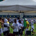 Manifestazione tiro con l'arco allo Stadio Bacicalupo